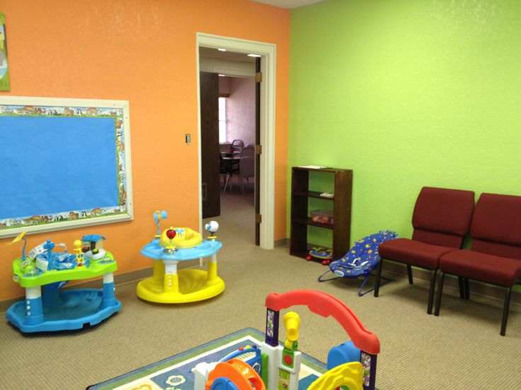 Church Nursery Upgrade (other Walls Are Blue And Yellow).