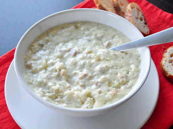 Make and share this Thick and Creamy New England Clam Chowder recipe from Food.com.