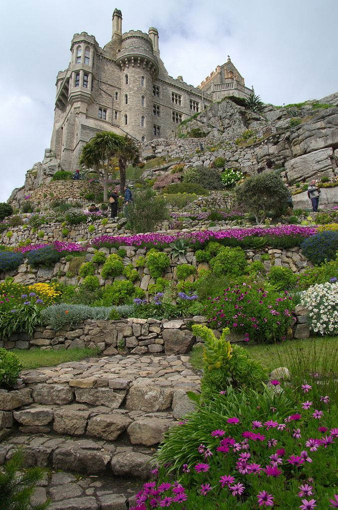 St Michael's Mount, Cornwall, England                                                                                                                                                      More