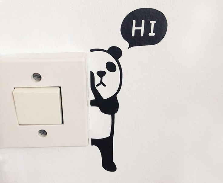 #väggdekal #väggdekor #panda