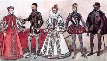 Костюм эпохи возрождения испания 16 век