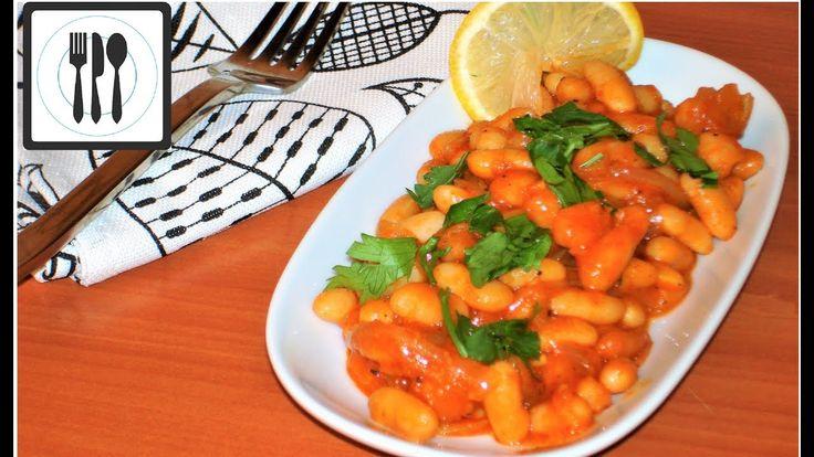 Фасоль в томатном соусе, или Лобио по-Турецки. ПП Рецепт из белой фасоли...