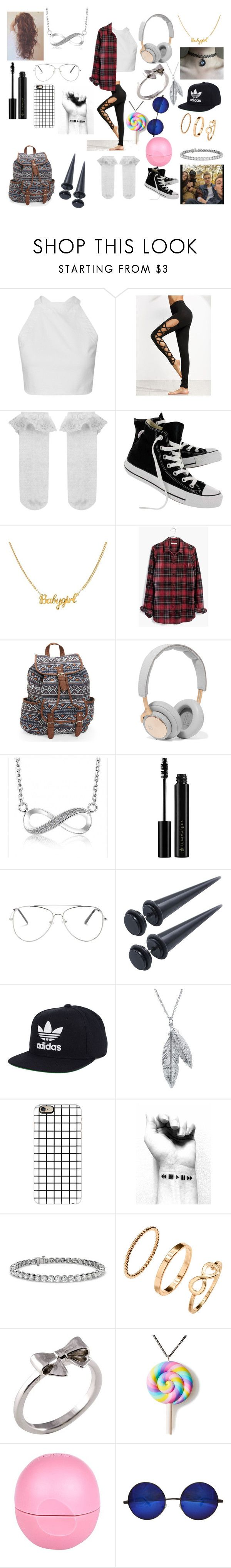 """""""#118"""" by spider-1505 on Polyvore featuring Mode, Monsoon, Converse, Madewell, Aéropostale, B&O Play, Illamasqua, adidas, Nina B und Casetify"""