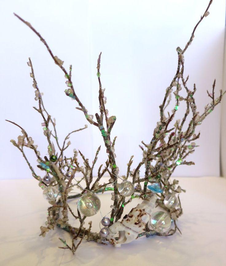 Mermaid Seashell Fairy Crown by lovebirdcreations on DeviantArt