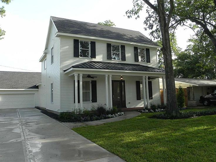 29 Best Images About White Houses With Black Shutters