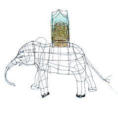 Éléphant ©Marie Christophe