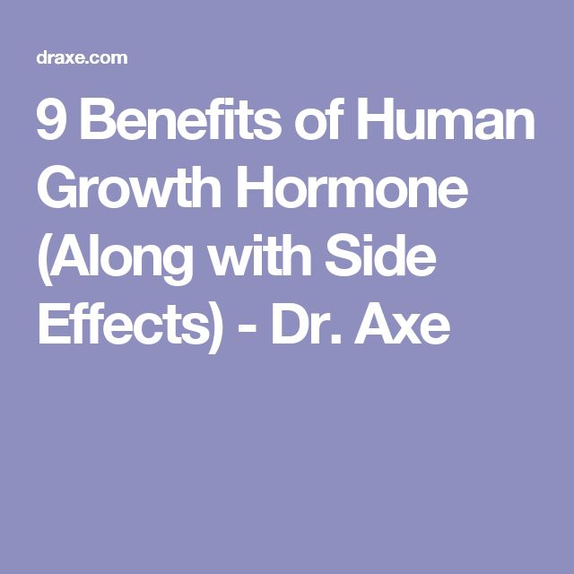 9 Benefits of Human Growth Hormone (Along with Side Effects) - Dr. Axe