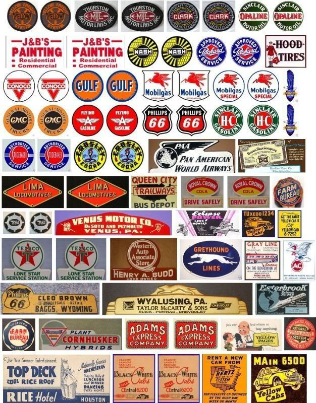 YES MORE! Signs for your layout - Model Railroader Magazine - Model Railroading, Model Trains, Reviews, Track Plans, and Forums #modeltrains #hobbytrains