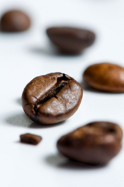 Coffee IV | Coffee beans on white background. I'll be workin… | Flickr - Photo Sharing!