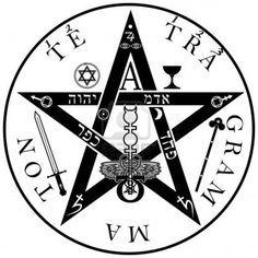 The ancient symbol. Tetragrammaton - ineffable name of God Stock Photo - 14406090