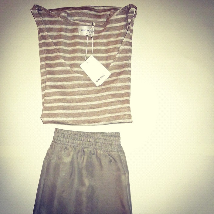 Frida singlet and Annie Rose shorts - a little styling still life.