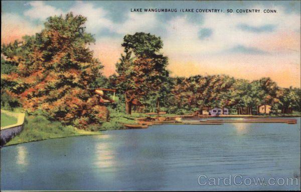 Coventry Lake Patriots Park Beach