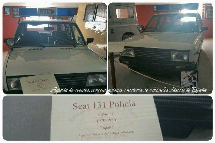 """Seat 131 Policía  1970 -1980 Actuó en la película de """"Volando Voy """""""