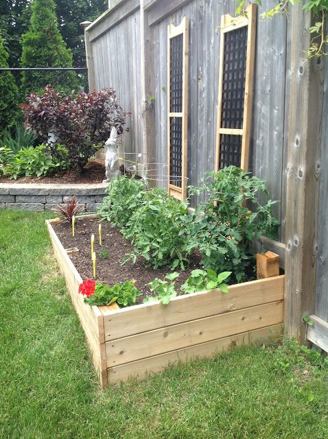 This Raised Bed Has A Clean, Sturdy Design. Perhaps Something Like This Off  The. Raised Vegetable GardensRaised ...