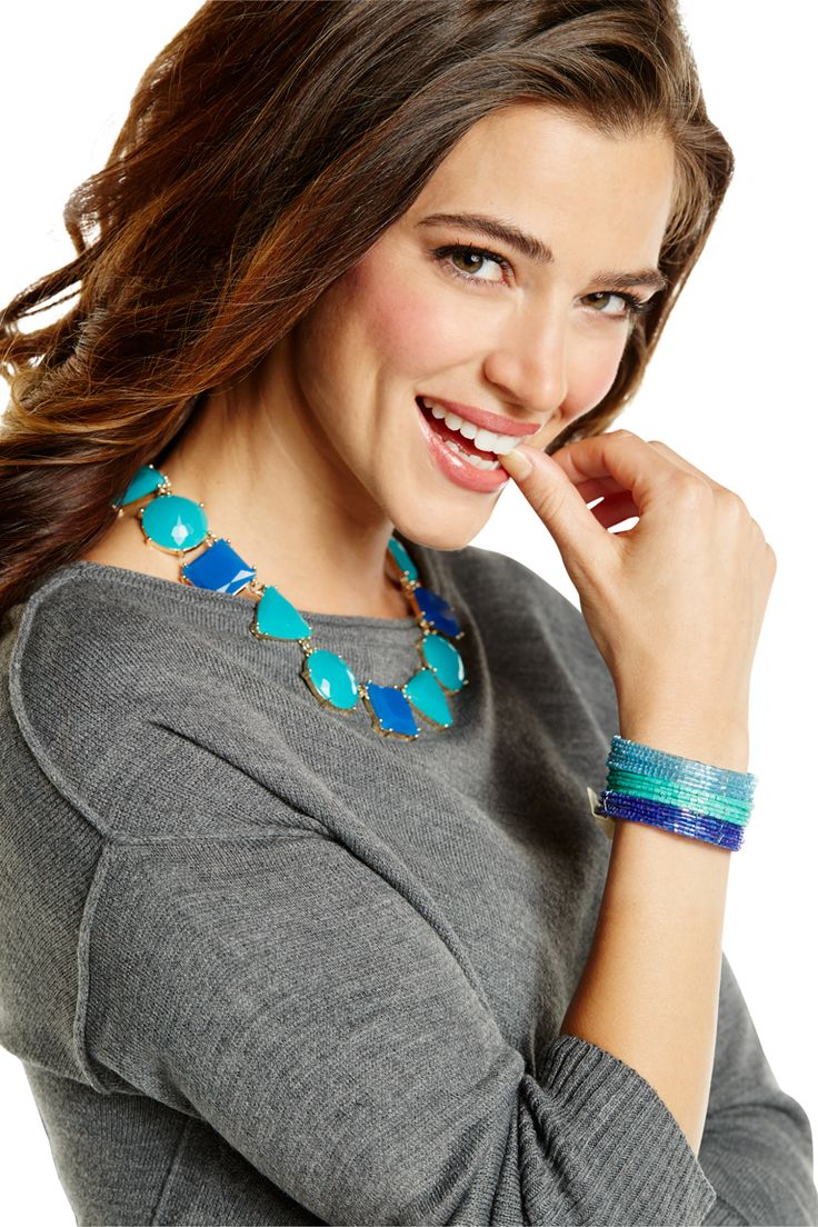 A statement necklace can pull an outfit together to express individual style. #BurkesOutlet #MyStyleContest