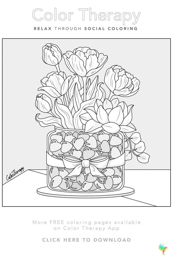 Color Therapy Coloring Pages image by Color Therapy App ...