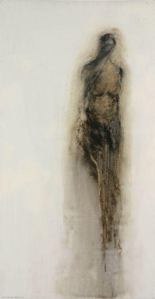 Sylvia Safdie - Earth Marks Series: Art Work, Draw Figure, Fineart Figurative, Earth Marks, 2006 Earth, Sylvia Safdie, Painting