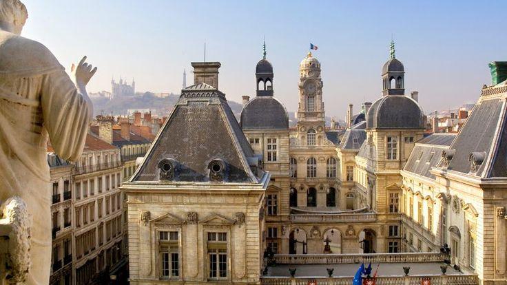Hôtel de ville, Lyon, France