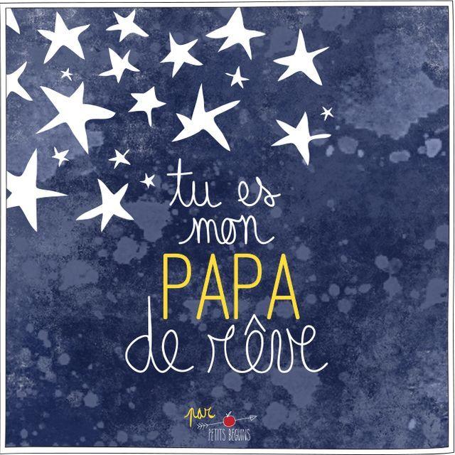 Cartes d amour pour papa les jolis special days pinterest - Citation fete des peres ...