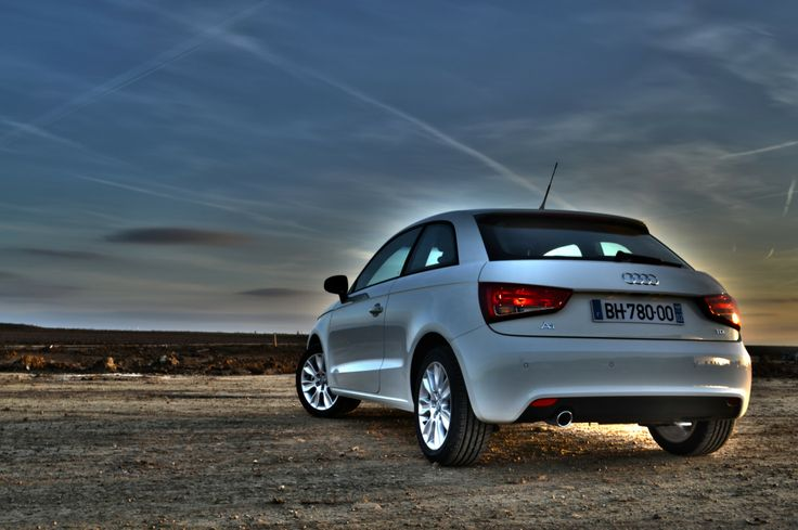 #AudiA1 #Audi #A1 #white #horizon