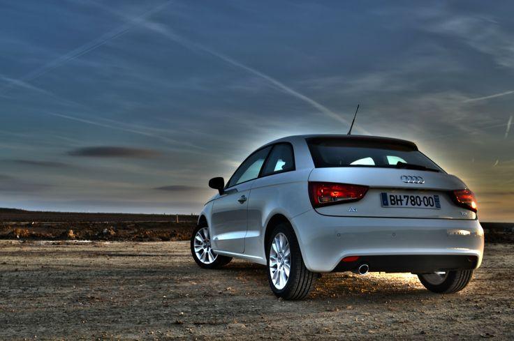 #AudiA1 #Audi #A1 #white #horizon