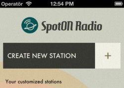 SpotOn Radio is een van de leukste apps om nieuwe muziek mee te leren kennen op de iPhone (Spotify vereist)