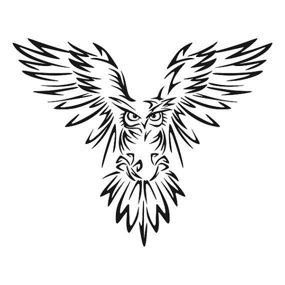 Best  Owl Silhouette Ideas On   Owl Stencil
