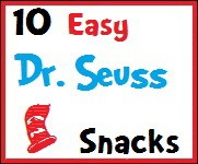 10 Easy Dr. Seuss Snacks: 10 Easy, Suess Snacks, Dr Seuss Snacks, Easy Dr., Dr. Seuss Snacks, Buttons 01, Snacks Buttons, Parties Ideas, Snacks Ideas