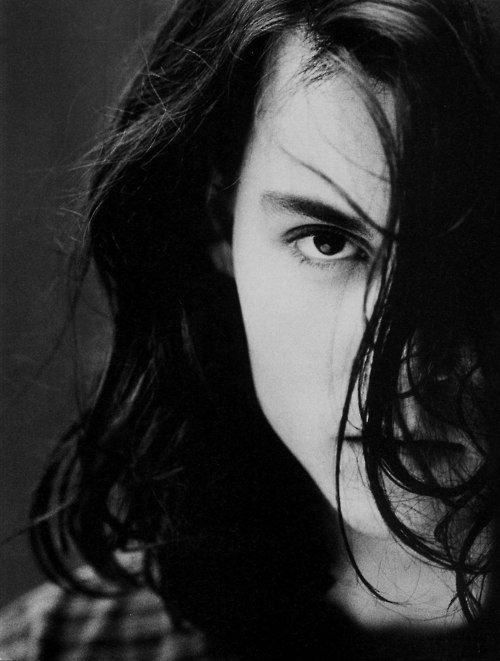 Johnny Depp photographed by Greg Gorman in 1993