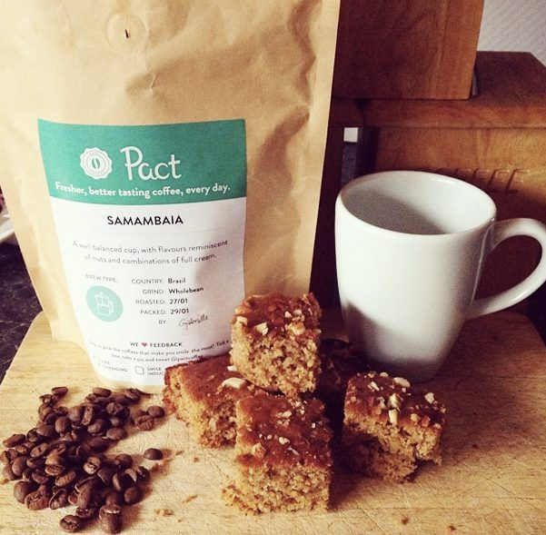Pact Coffee & Date Loaf