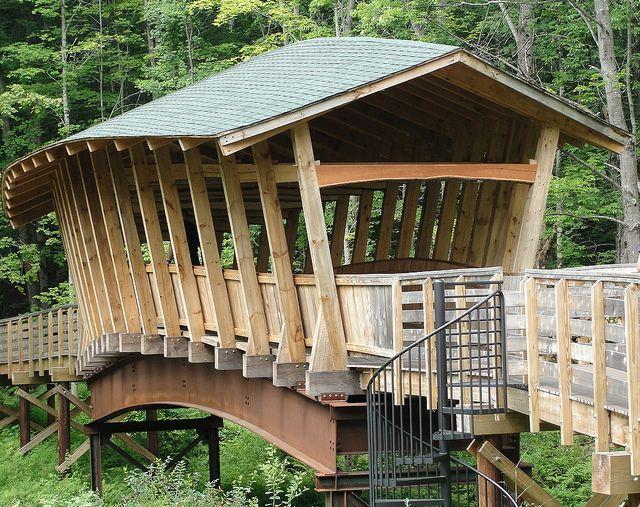 Covered Bridge   Bridgton, Maine