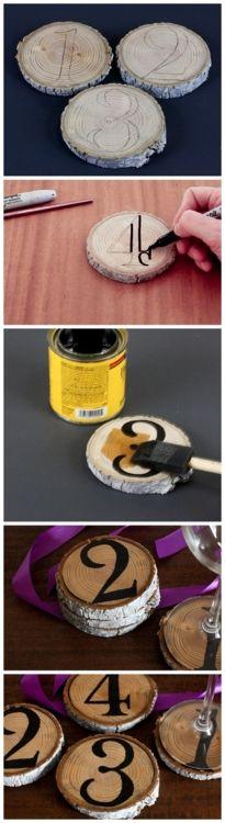 How To: Make Graphic Tree Limb Coasters