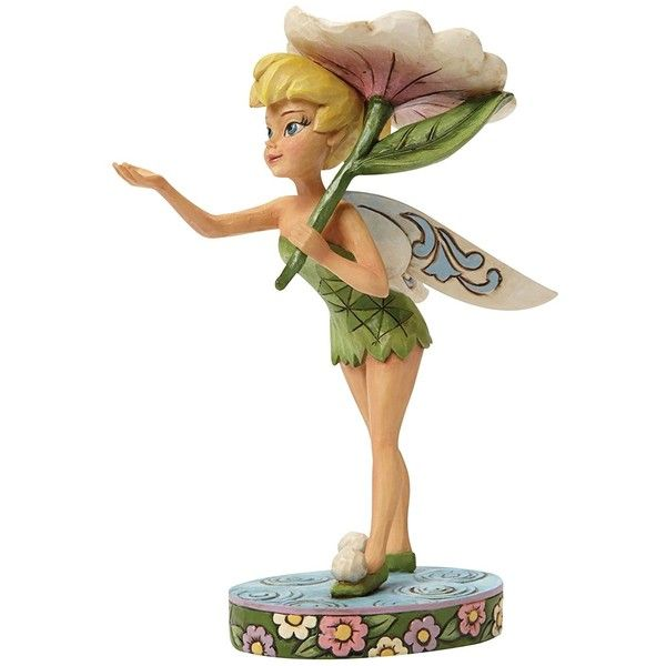 Jim Shore for Enesco Disney Traditions Tinker Bell Spring Figurine,... ($50) ❤ liked on Polyvore featuring home, home decor, tinkerbell figurines, tinkerbell figure, disney home decor, spring home decor and tinker bell figurine