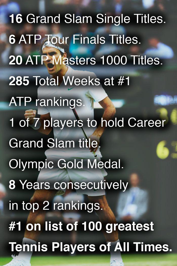 Roger Federer la leyenda. #Federer @jugamostenis