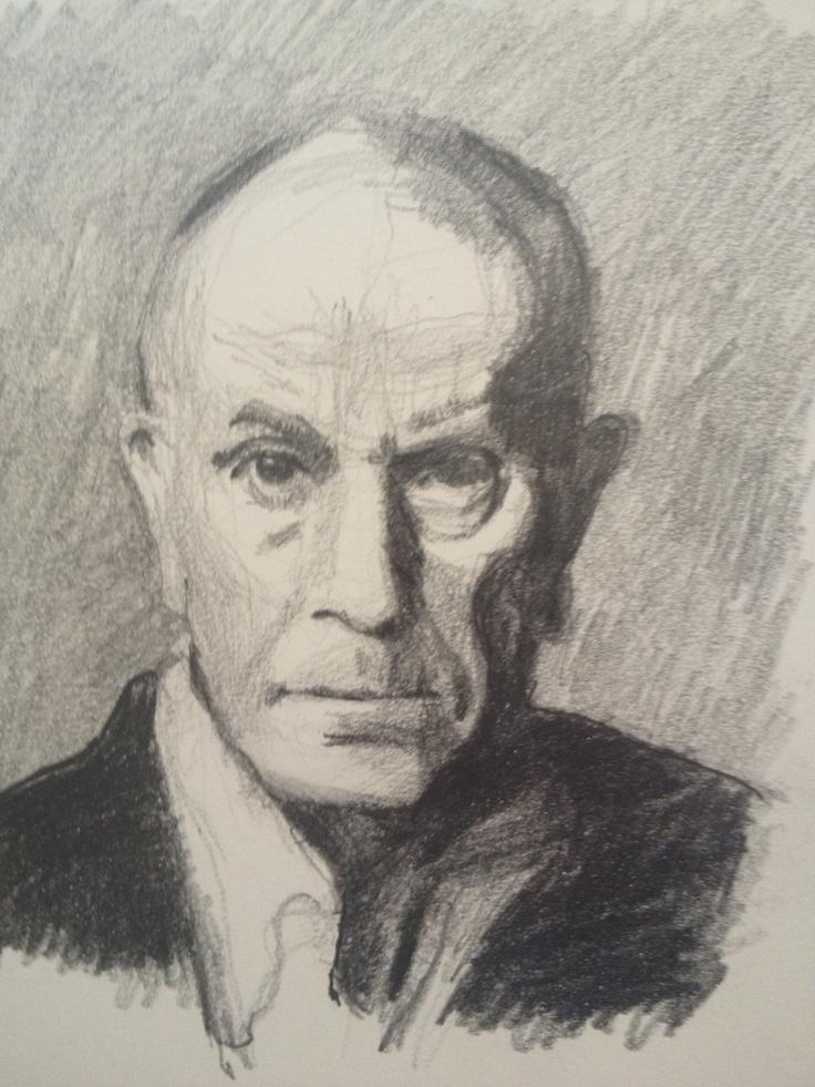 Pencil Drawing. Richard Wilson