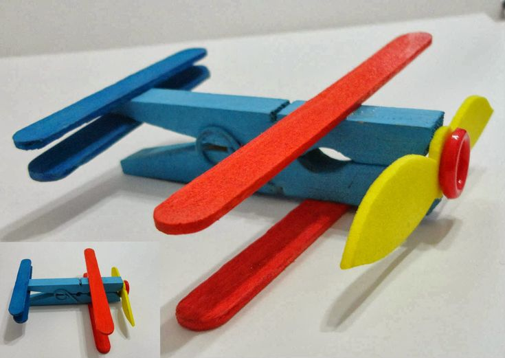 how to make a popsicle stick airplane that flies