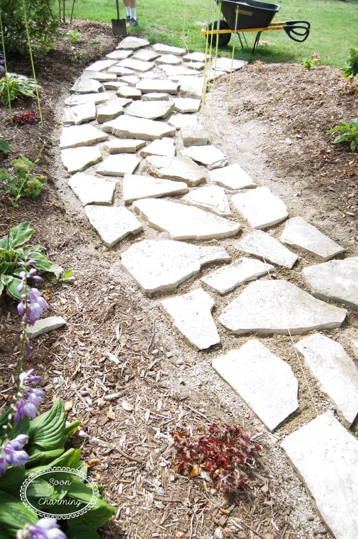 how to lay a flagstone pathway landscaping with rocks on extraordinary garden stone pathway ideas to copy id=29917