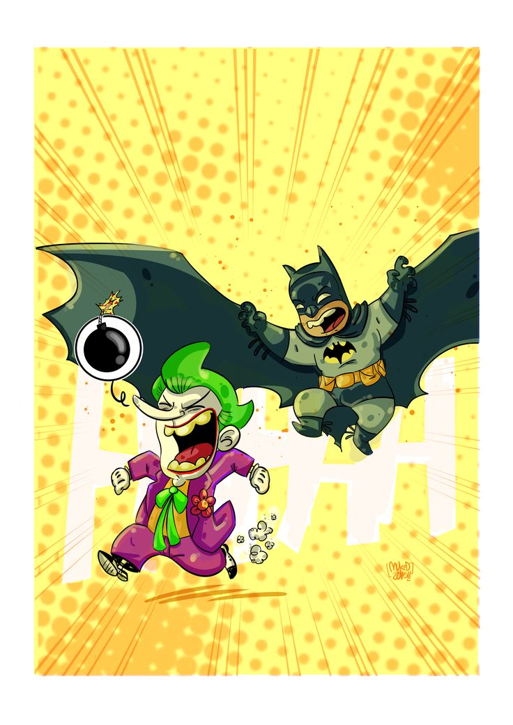Joker vs Batman '66