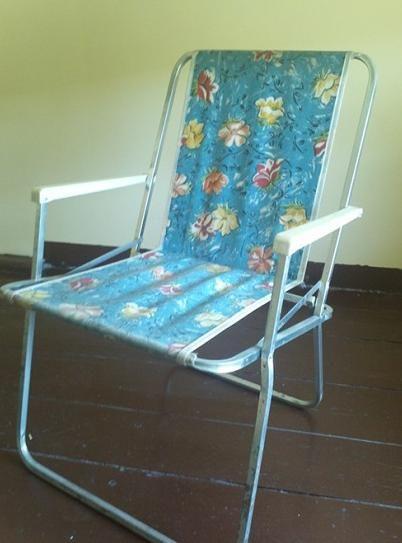 Składane fotele turystyczne do renowacji!
