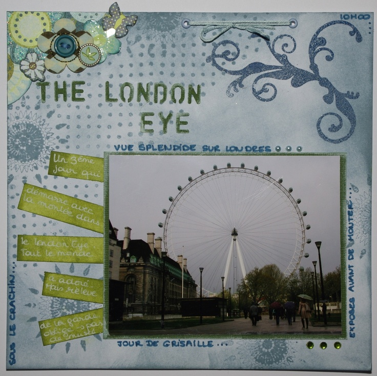 The London Eye - Scrapbook.com