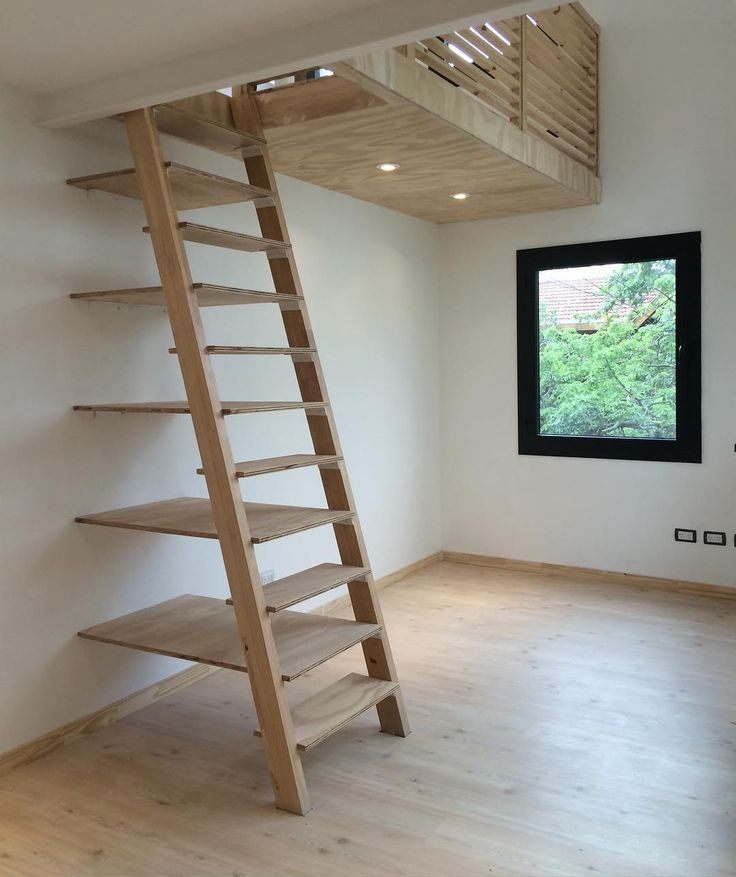 Shelves Stairs Home Design