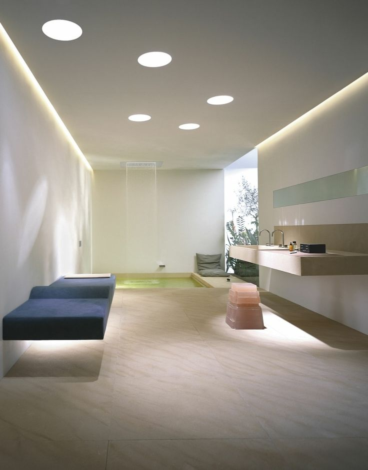 clairage de salle de bain pour une ambiance douce modern bathroom
