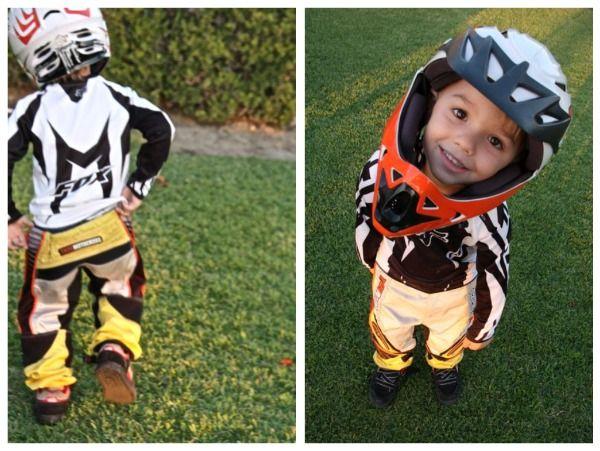 Motocross Racer {Halloween Costume}