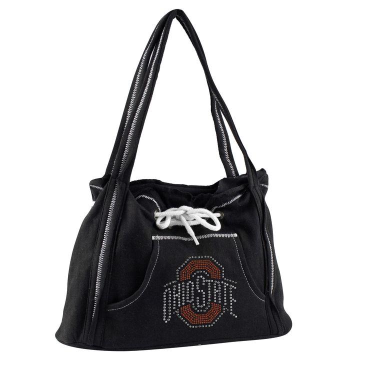 Ohio State Buckeyes Sports Noir Hoodie Purse