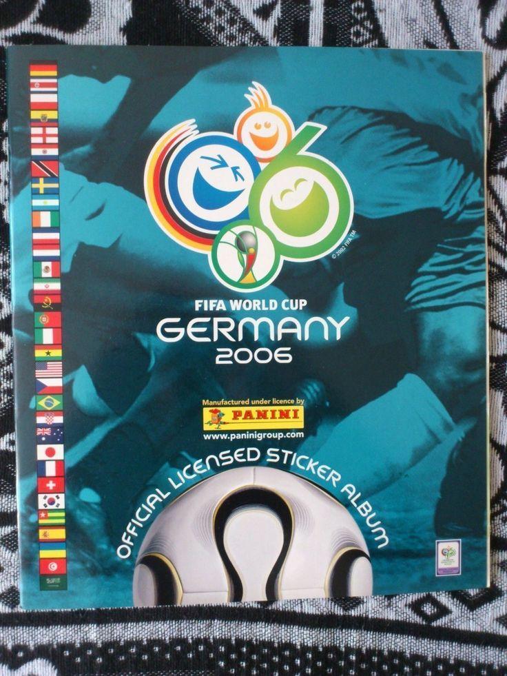 FOOTBALL FIFA WORLD CUP GERMANY 2006 PANINI 21% COMPLETE STICKER ALBUM | eBay