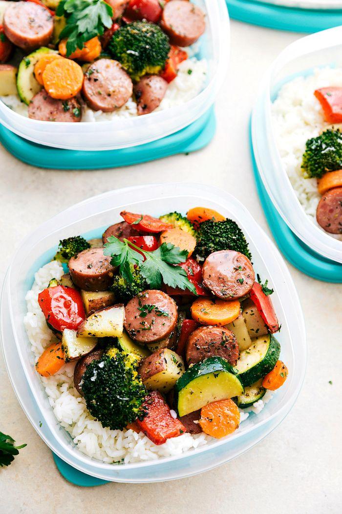1001 + idées de repas de midi équilibré à emporter avec soi au bureau | Repas du soir équilibré ...