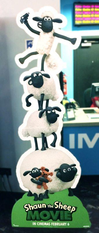 Shaun of the sheep movie cardboard cut out - discountdisplays