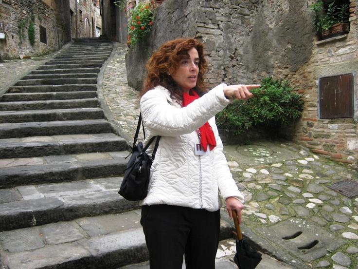 Guided walking tour of Anghiari