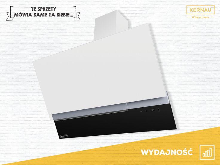 Jeden produkt - wiele możliwości ♥♥♥. Okap ten został wyposażony w silnik o zróżnicowanej mocy, dzięki czemu dostosuje się do Twoich potrzeb w każdym momencie: http://bit.ly/kernau_KCH5090