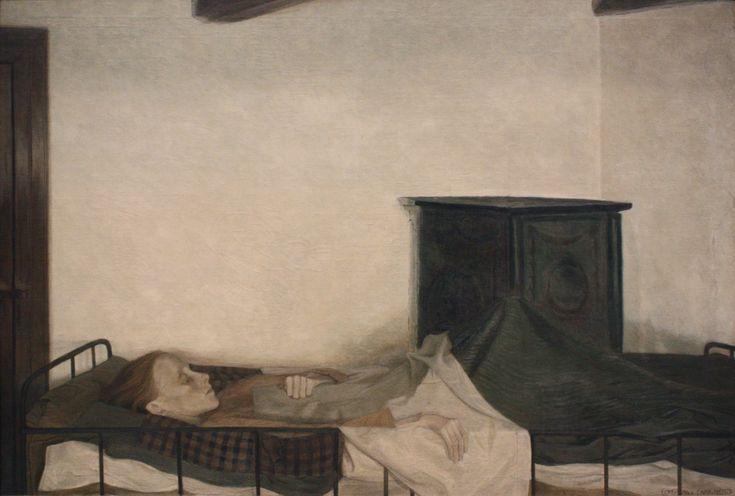 Den syge pige - Ejnar Nielsen (1896)
